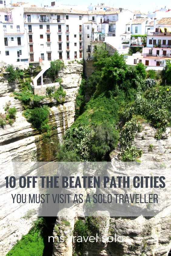 I love the small towns that nobody knows about! I put together my top 10 off the beaten path places for solo travellers! Also, share it and pin it! #solotravel #travelsolo #offthebeatenpath