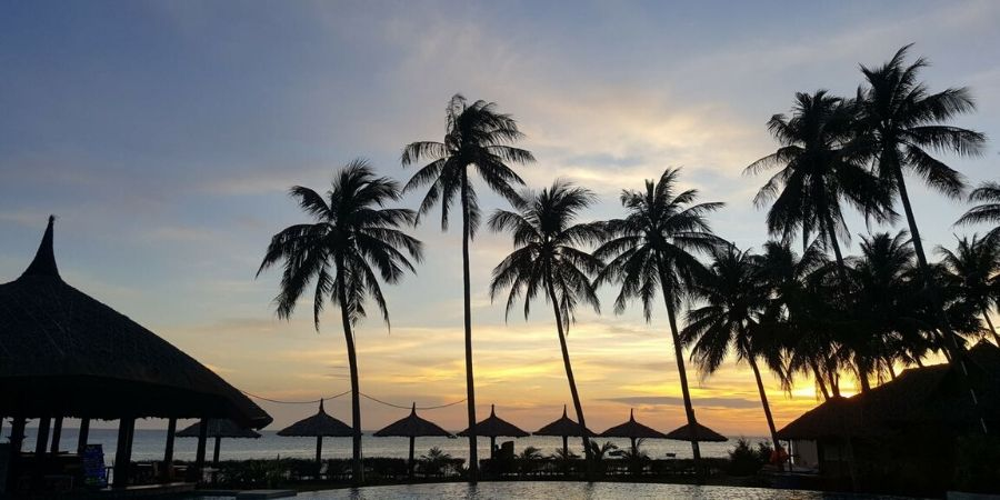 Mui Ne is all about beaches, kitesurfing and sunsets
