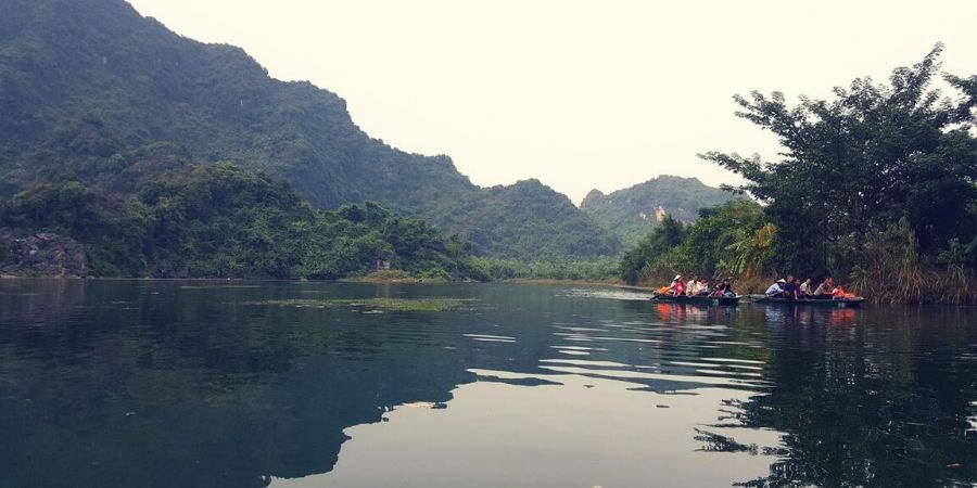 Experience the rural side of northern Vietnam in a town called Ninh Binh