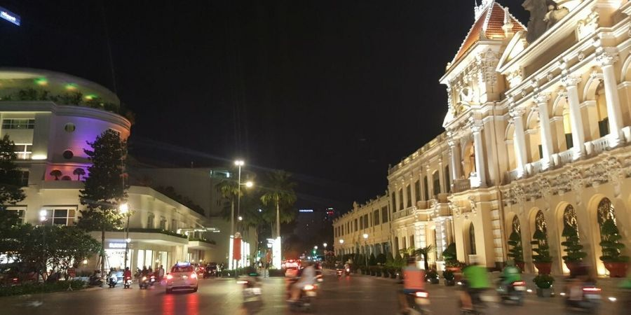 Experience the hustle and bustle of Ho Chi Minh City or Saigon
