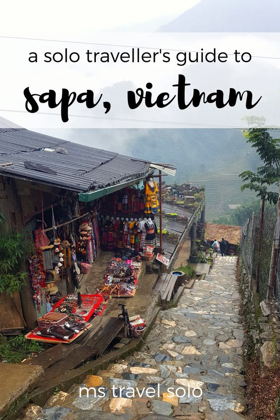 Sapa is a town in Northern Vietnam that you should not miss. If you love hiking, seeing beautiful nature and the small town vibe, then make your way to Sapa, Vietnam! Check out my solo guide on Sapa and pin it to your Pinterest board. #solotravel #vietnam #sapa #solotravelguide