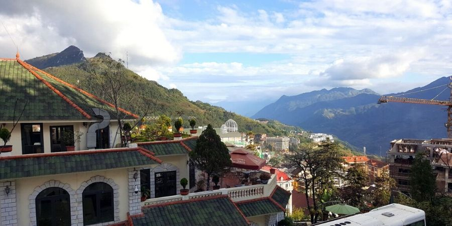 Mountain view from Sapa Highland Resort and Spa