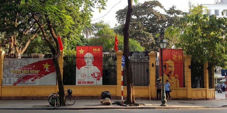 Streets of Ho Chi Minh City (or Saigon)