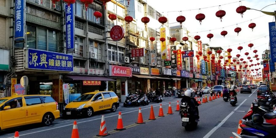 Streets of Hualien, Taiwan