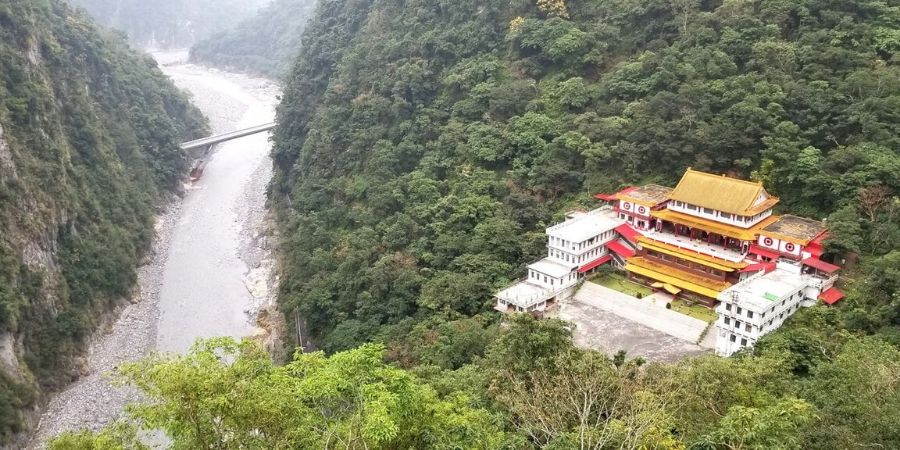 Changchun Shrine Trail at Taroko Gorge National Park