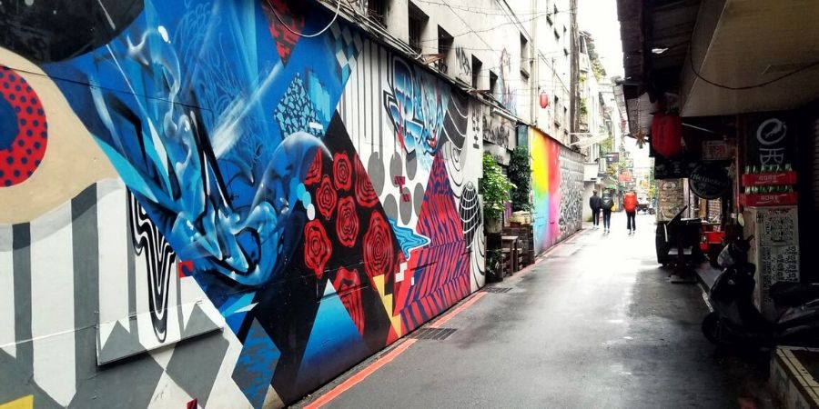 During your solo trip to Taiwan, stay near Ximending where you are in the middle of all the best food and attractions.