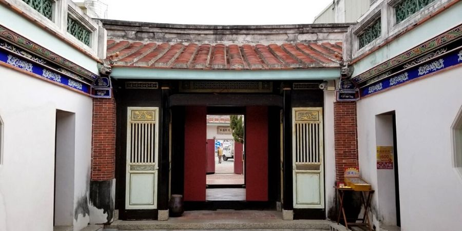 A quiet Tainan temple in Anping District