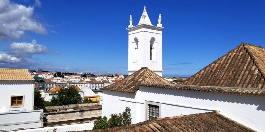 View of Tavira from Castelo de Tavira (Tavira Castle)