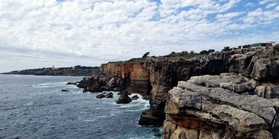 Visit Boca do Inferno (Hell's Mouth) when you are in Cascais, Portugal