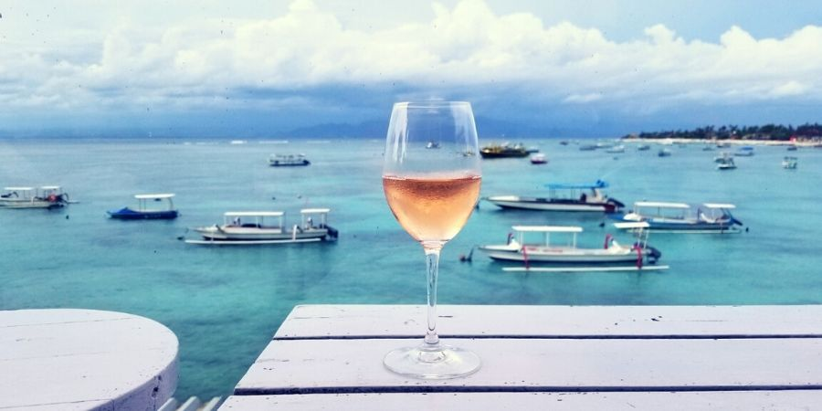 Have a drink at The Deck Cafe & Bar and enjoy the million dollar view