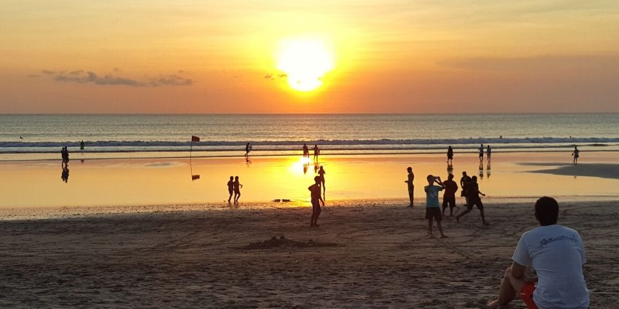 Don't miss the sunset at Double Six Beach in Seminyak!