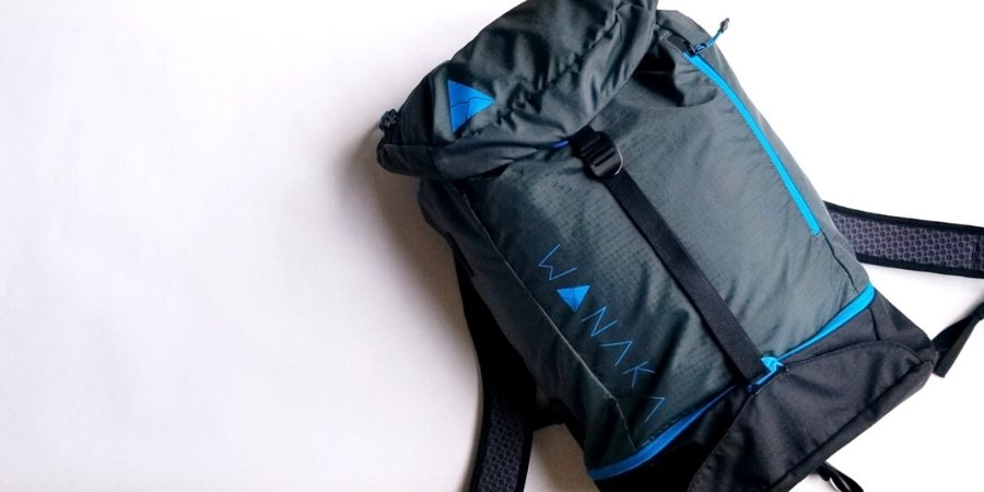 Wanaka Adapt Backpack is my choice for the best minimalist travel backpack.