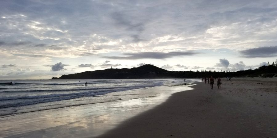 Spending one day in Byron Bay includes beautiful beaches, hike up to Cape Byron and gorgeous sunset