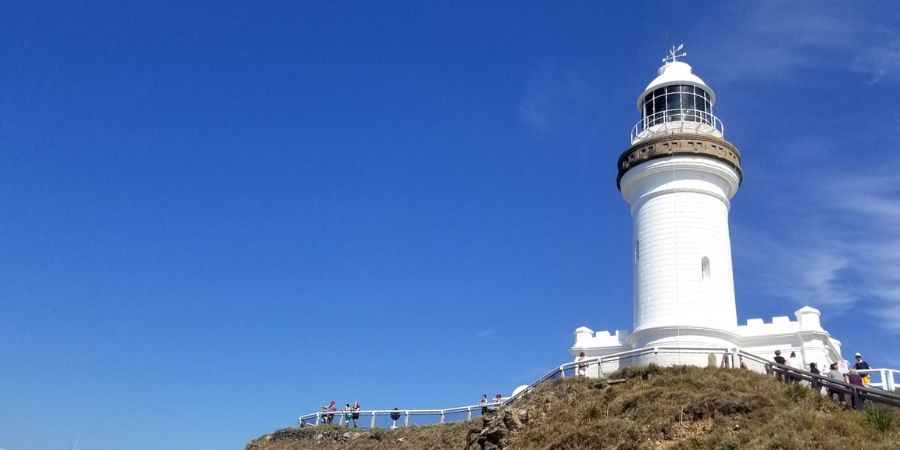 One of the most visited sites in Byron Bay is the Cape Byron Lighthouse