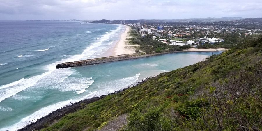 Rent a standup paddleboard and spend a few hours paddling through Tallebudgera Creek.