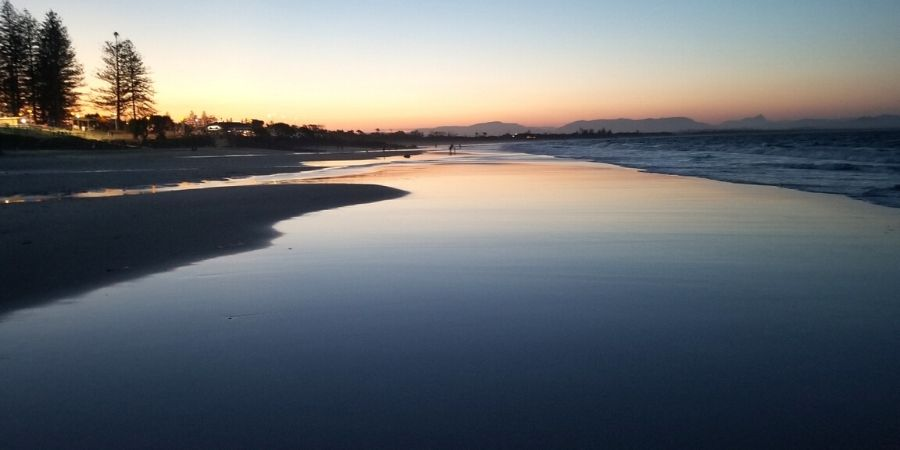 It is possible to see everything in Byron Bay in one day, including a gorgeous sunset.