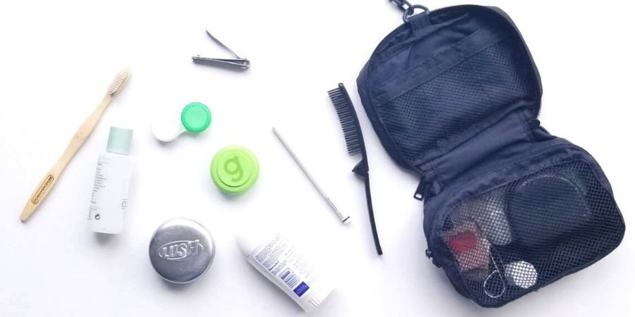 Take a peek at my minimalist toiletries packing list so you can use it as a guideline and build your own toiletries list.
