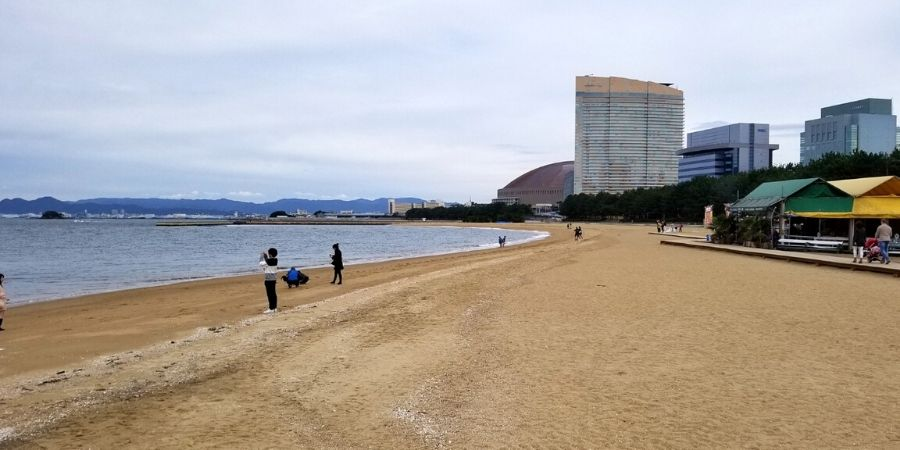 It is best to visit Momichi Seaside Park during summer as Momochihama Beach is a wonderful city beach.