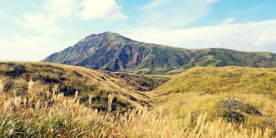 Spend the day hiking through the trails of Mount Aso and see the active volcano up-close.