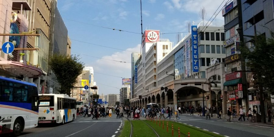 It is convenient to stay in the city centre of Kumamoto, where you will find all the best restaurants and attractions.
