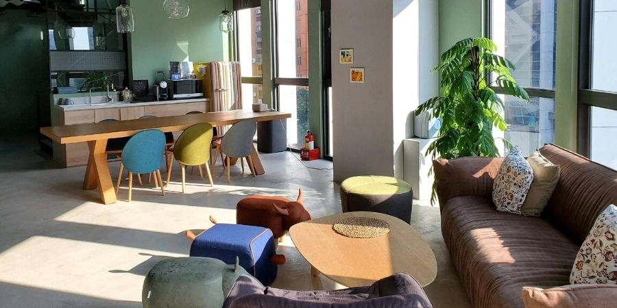 Kafnu Taipei is an inspiring coworking and colliding hotel in Taipei, Taiwan