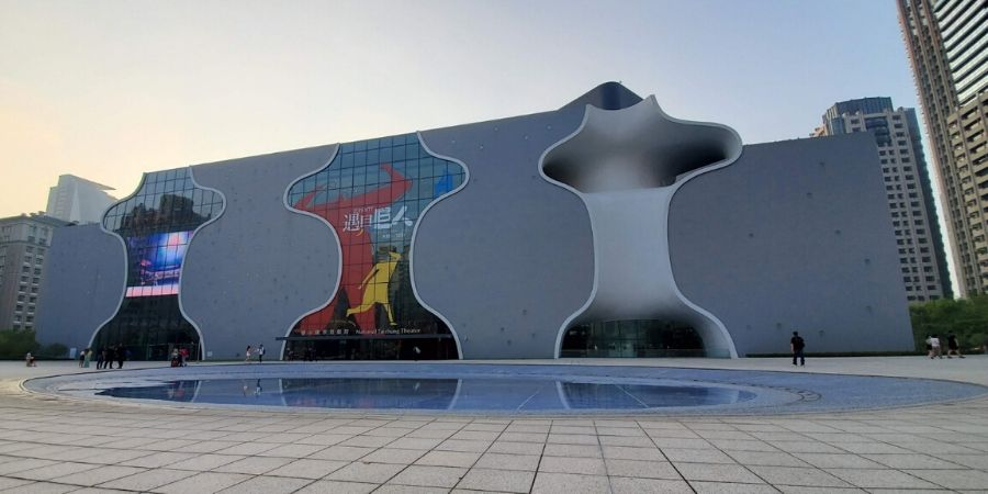 See the modern architecture at the National Taichung Theatre.