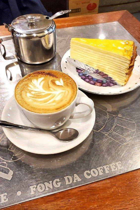 蜂大咖啡 (Fong Da Coffee) has one of the best coffees in Ximending. Give it a try!