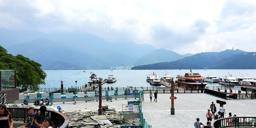 What to do in Sun Moon Lake? Start all your sightseeing at Shuishe Pier!