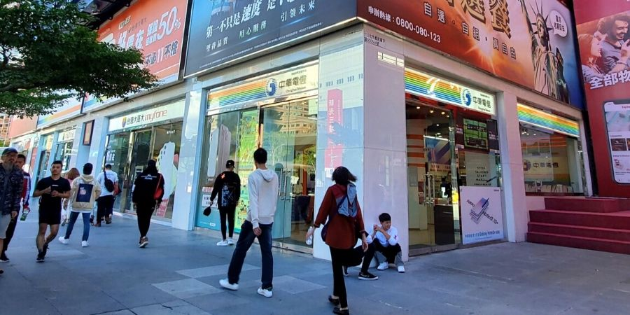 There are many telecommunication retail stores across different cities in Taiwan. Look for either Chunghwa Telecom or Far EasTone.