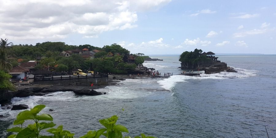 A visit to Canggu must include an excursion to Tanah Lot