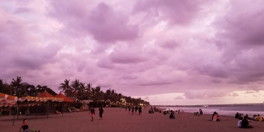 Don't miss the sunset at Double Six Beach while you are in Seminyak