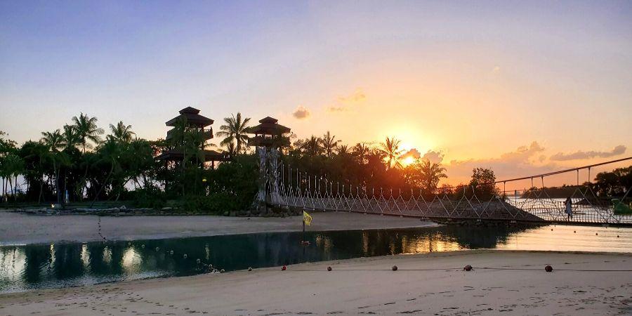 Palawan Beach at Sentosa Island