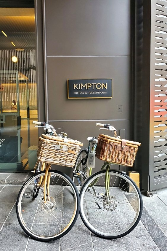 Vintage Go Chic Bikes at Kimpton