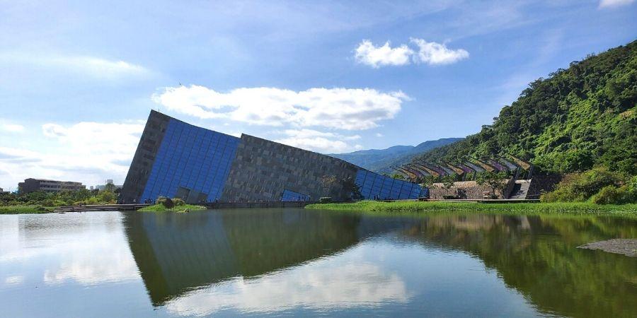 Unique profile of Lanyang Museum