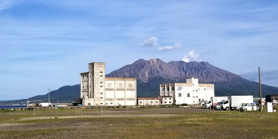 Sakurajima: the symbol of Kagoshima