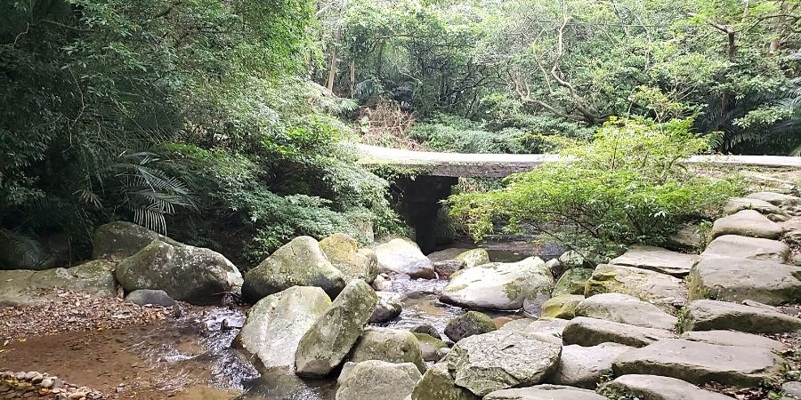 Caoling trail scenery
