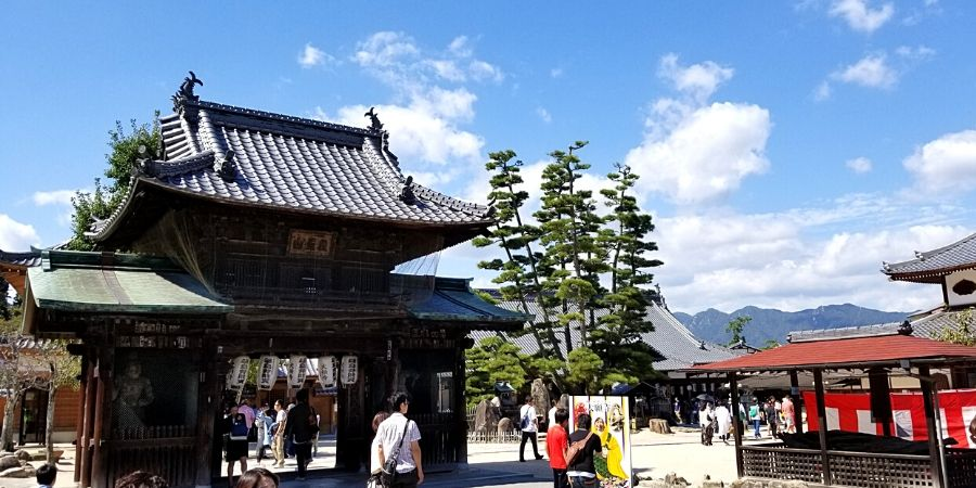 Scenery around Miyajima Island