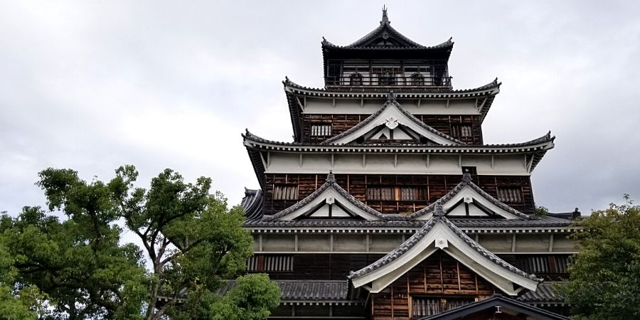 Don't miss Hiroshima Castle while you are touring through the city