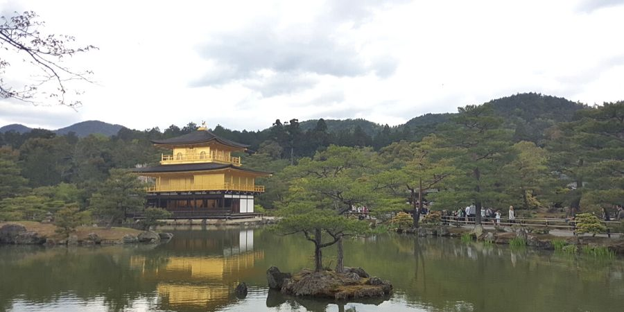 Kinkaku-ji in Kyoto, Japan
