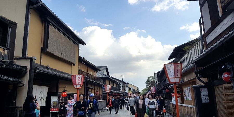 Gion in Kyoto, Japan