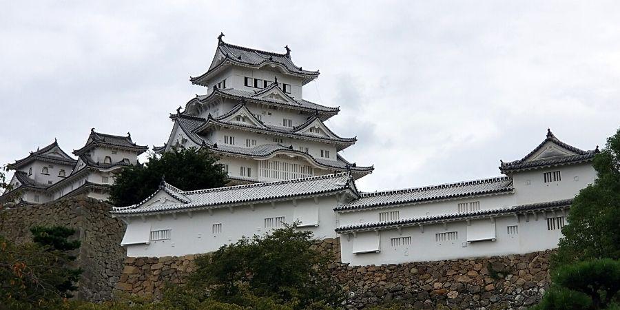 Himeji Caslte in Himeji, Japan