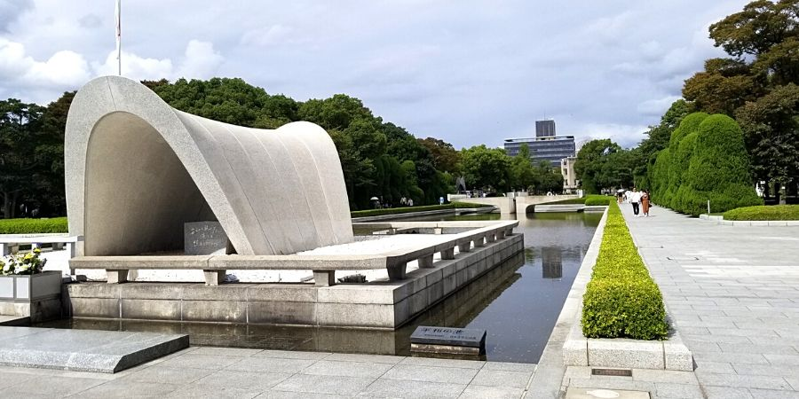 Cenotaph for the A-bomb Victims