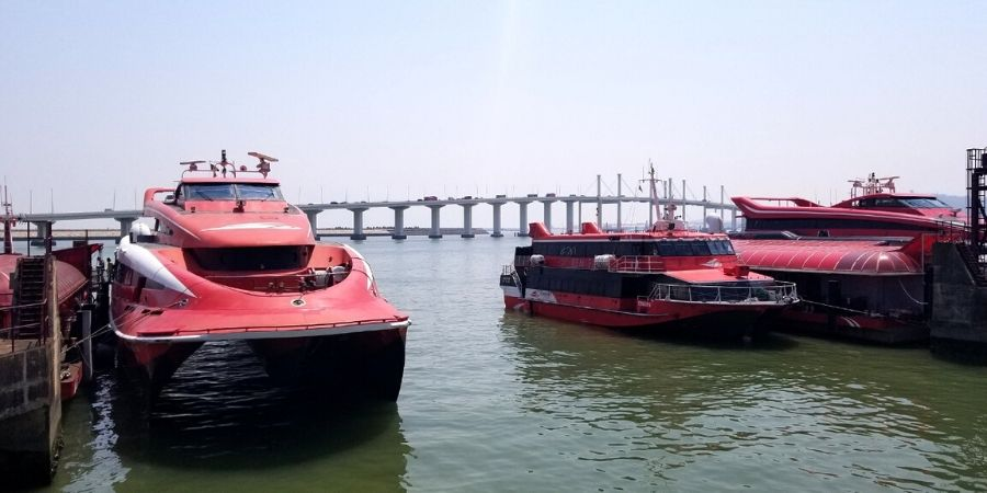 Travel from Hong Kong to Macau with TurboJET