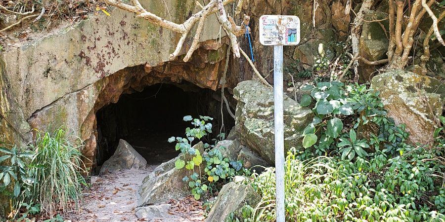 Kamikaze Grottos near Sok Kwu Wan