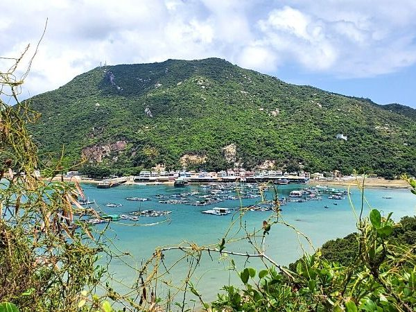 One of the best views of Lamma Island. Hike the main trail between the 2 biggest villages and see this gorgeous view.