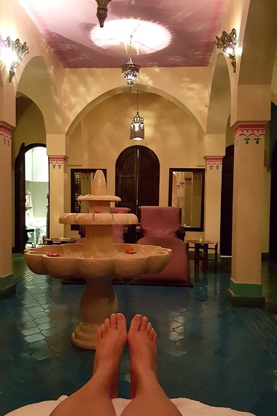 Enjoy a spa treatment is one of the best solo staycation ideas