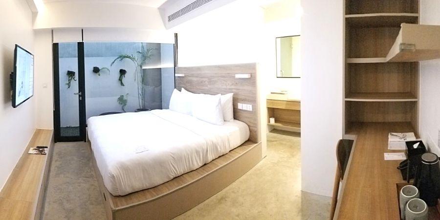 Standard room at Lloyds Inn Bali