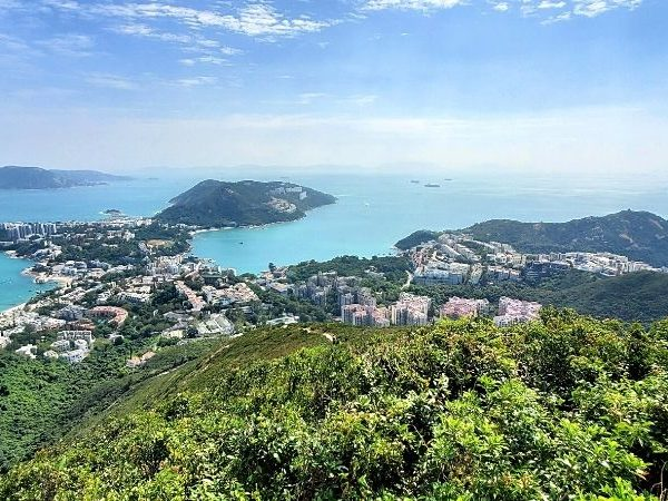 See the most gorgeous view of southern HK by hiking The Twins in Hong Kong.
