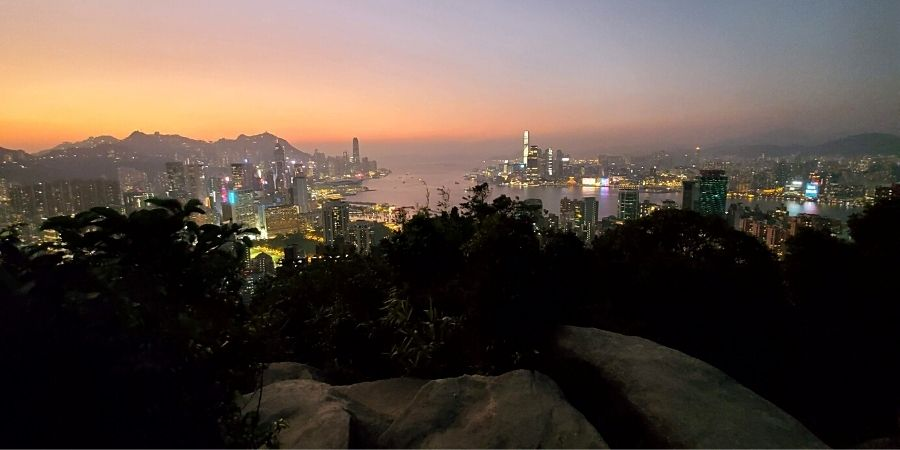 Hike up to the Red Incense Burner Summit on Braemar Hill and watch one of the best sunsets in Hong Kong.