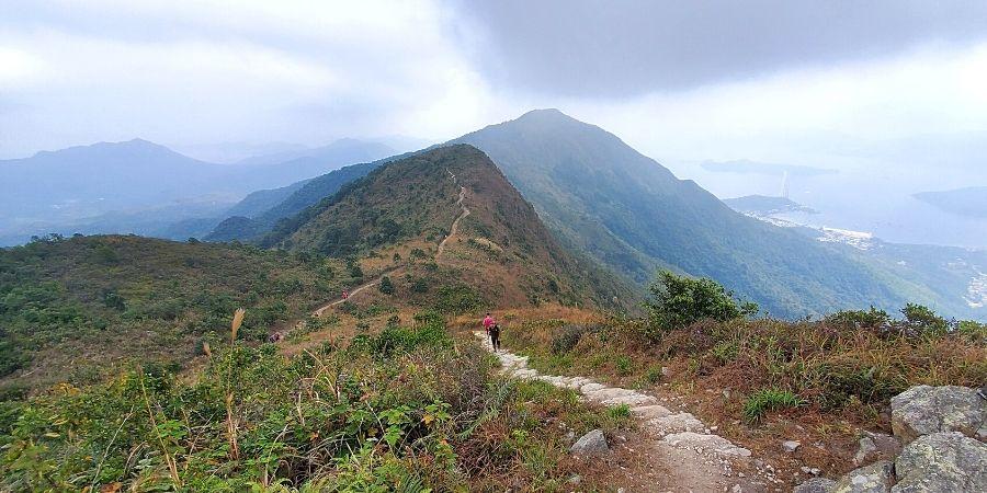 Pat Sin Leng Country Park views: looking east